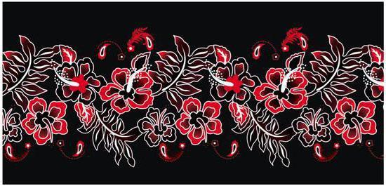 Цветочный орнамент,