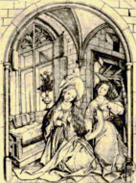 Старинные немецкие гравюры