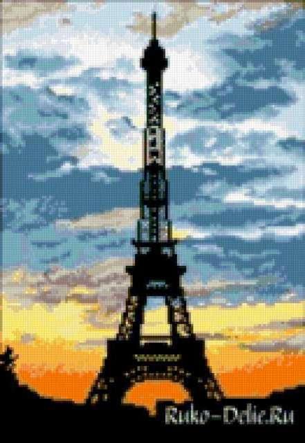 Вышивка все схемы башня