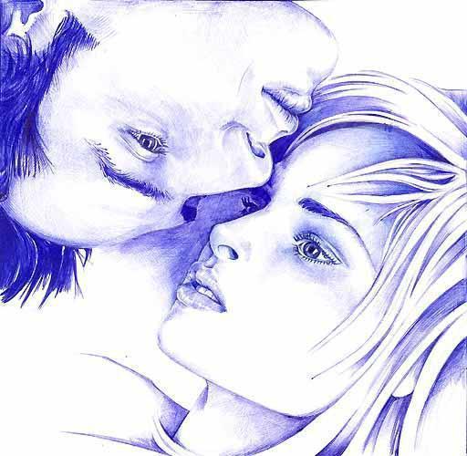 Про любовь, рисунок, графика,
