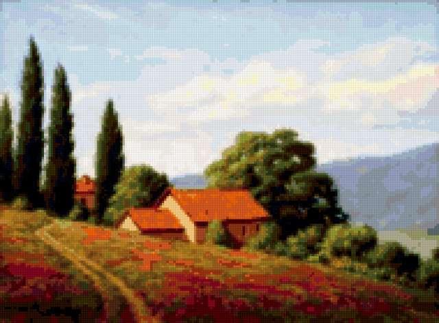 Маковые поля Италии