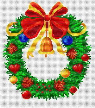 Вышивка крестом все на праздник 190