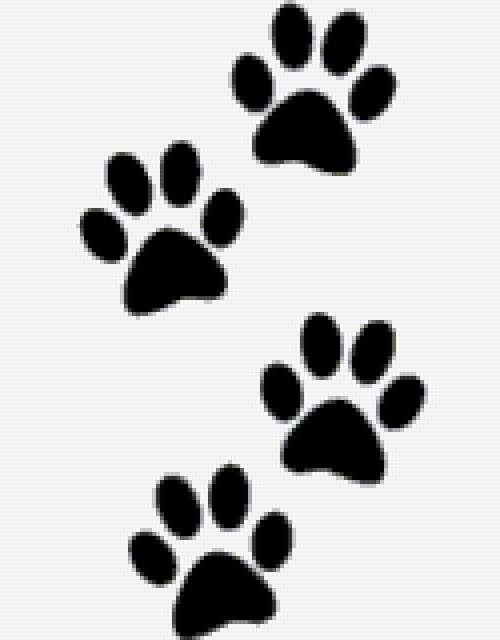 Схема кошачьи лапки