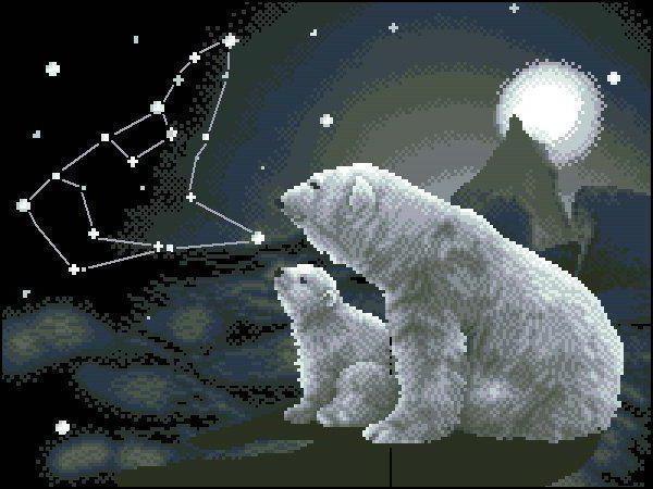 Большая медведица, оригинал