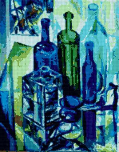 Склянки- бутылки, предпросмотр