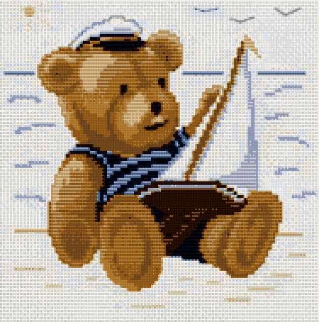 Мишка - моряк, предпросмотр