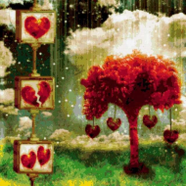 Дерево любви, предпросмотр