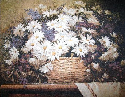 Корзина с цветами, оригинал