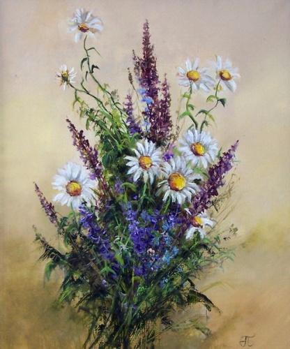 Букет полевых цветов, оригинал
