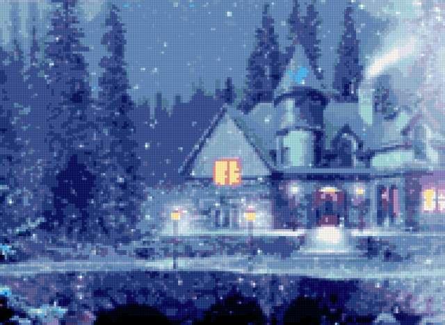 Синяя зима, предпросмотр