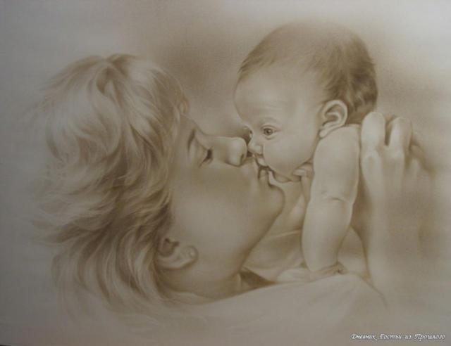 Мать и дитя, дети, ребенок,