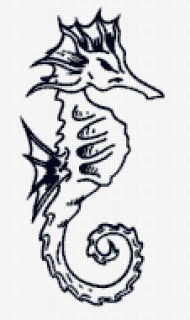 Морской конек, предпросмотр