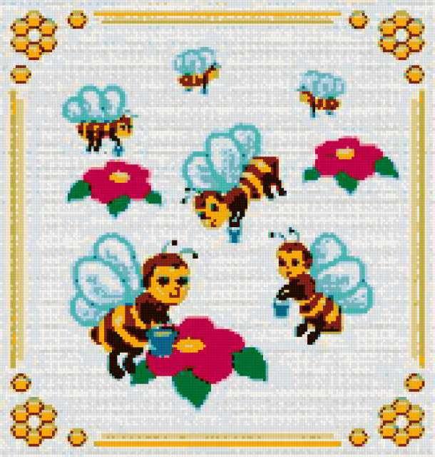 Пчёлки, предпросмотр
