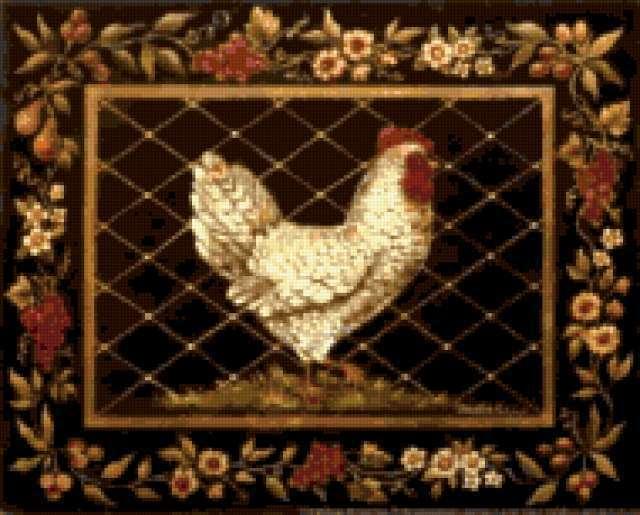 Подушка курица, предпросмотр