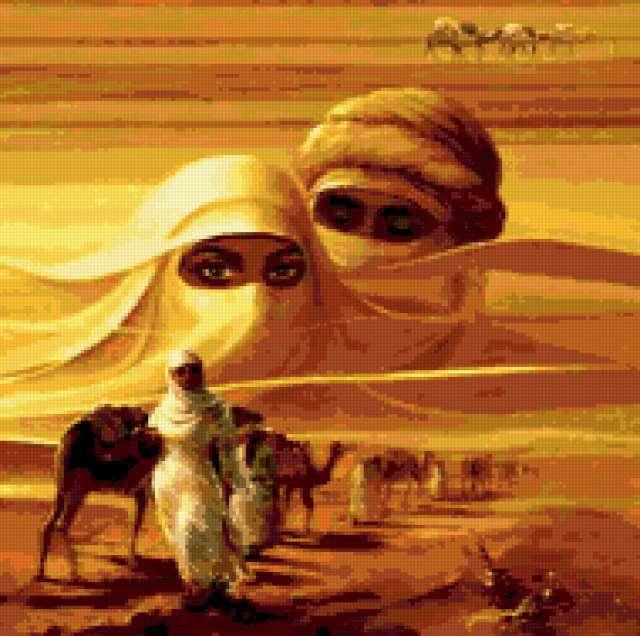 Мираж в пустыне, предпросмотр