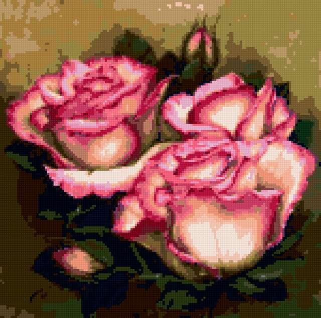 Подушка розы, предпросмотр