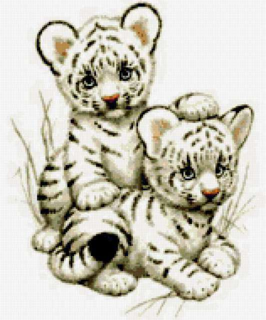 Тигрята Подарок к году тигра,