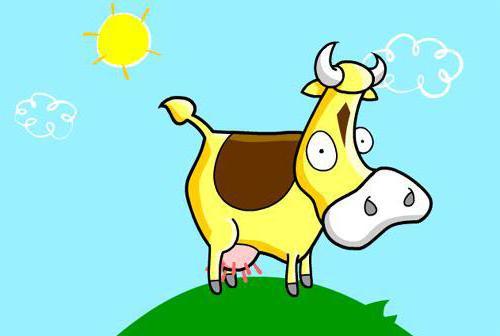 Веселая корова, оригинал