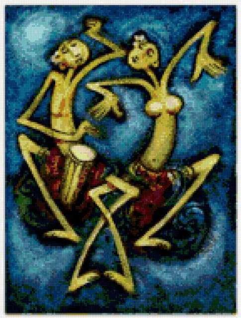 Танцующая пара, предпросмотр