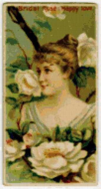 Роза белая-невинность