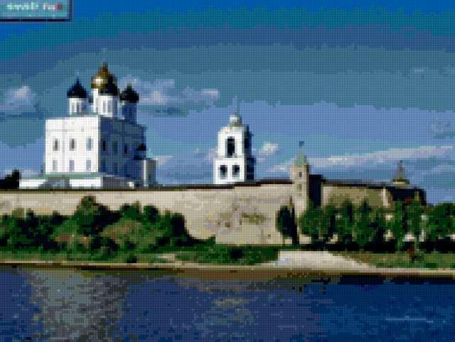 Кремль Псков, предпросмотр