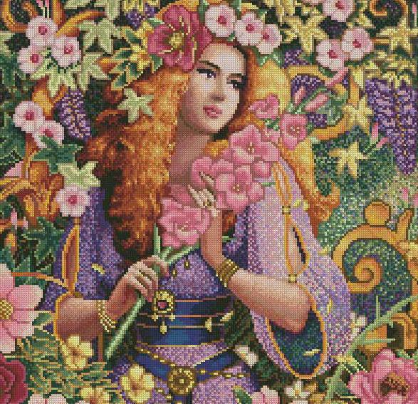 Девушка-весна, оригинал