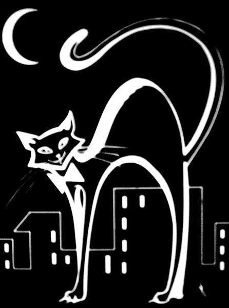 Черный кот , оригинал