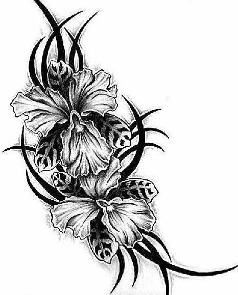 Цветок-узор, цветок, цветы,