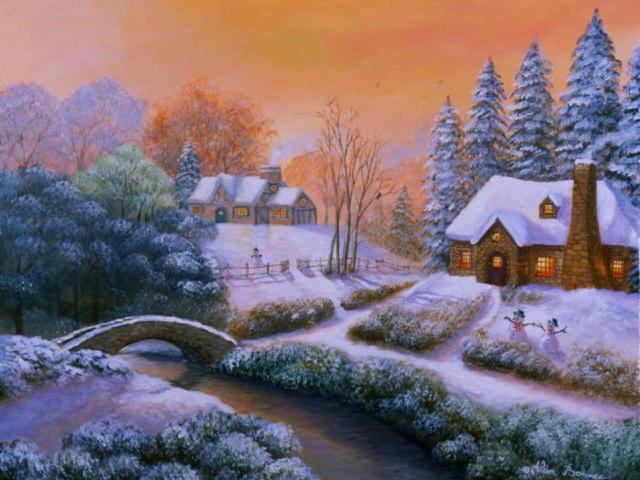 Зимушка-зима, пейзаж, зима,