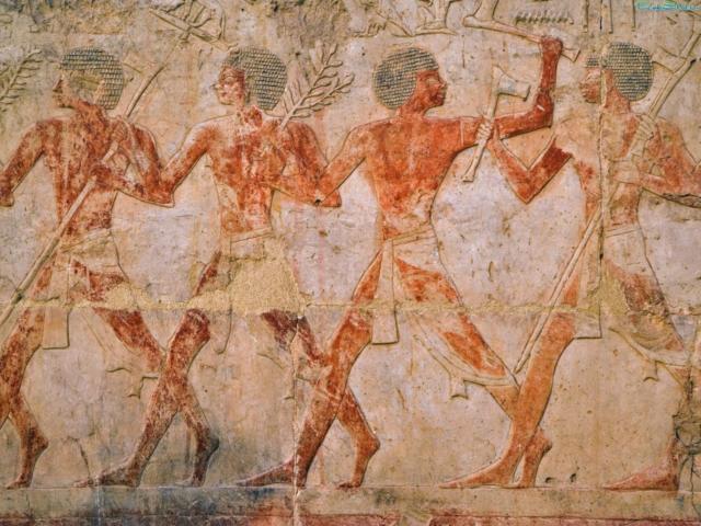Египет-фреска, египет, восток,