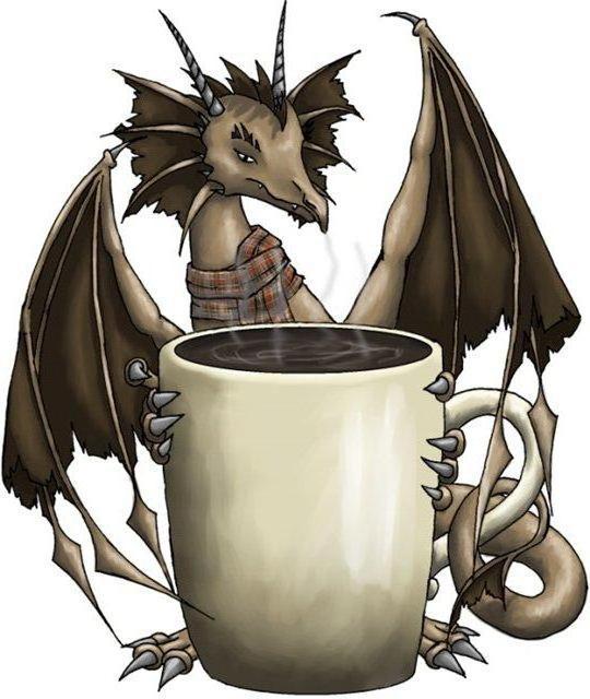 Чайный дракончик, фэнтези.