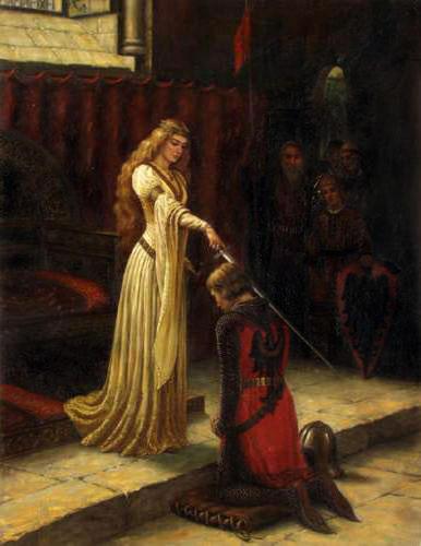 Посвящение в рыцари,