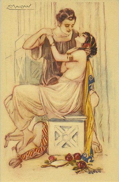 Античная любовь, женщина