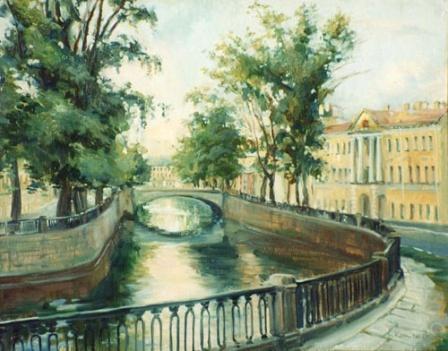 Канал Грибоедова. Питер.