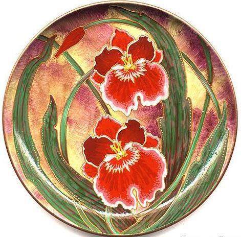 Орхидеи Панно-круг, цветы,