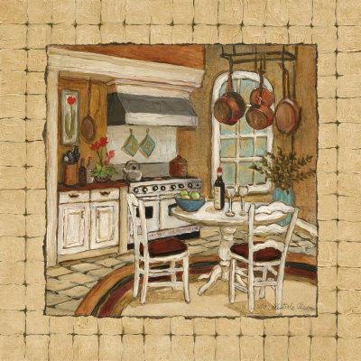 Кухня, интерьер, домик