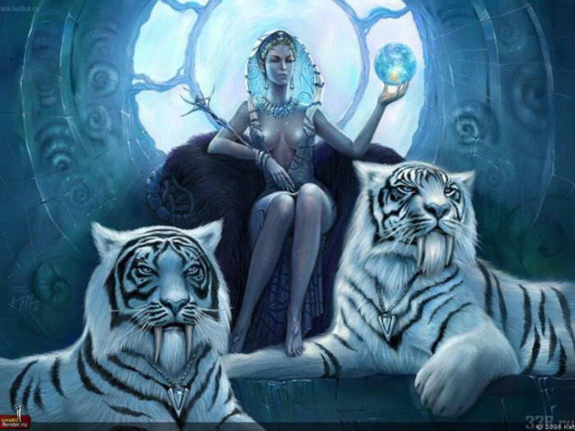 Девушка и тигр 6, девушка,