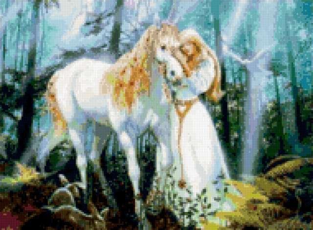 Любовь, животные, лошадь