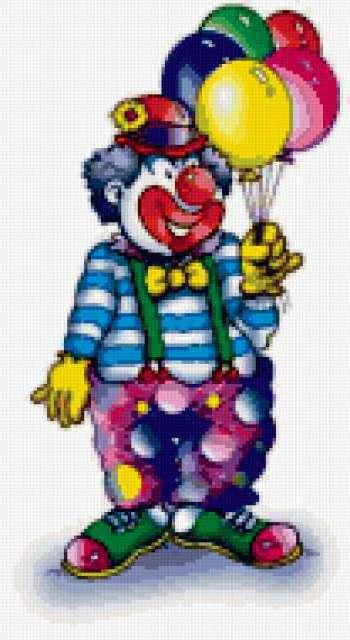 Клоун, предпросмотр