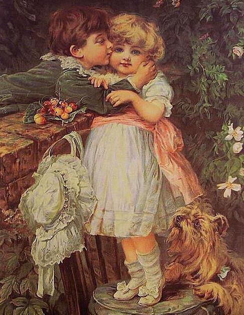 Первый поцелуй, поцелуй, дети,