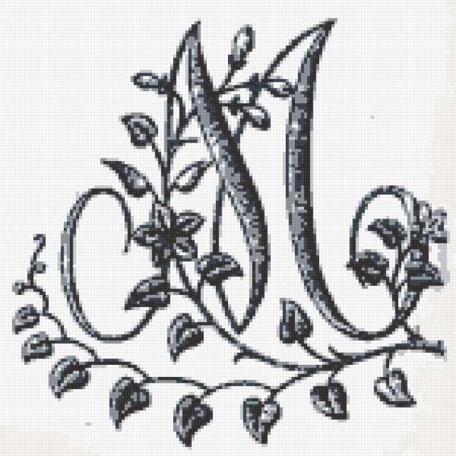 Буква М, предпросмотр