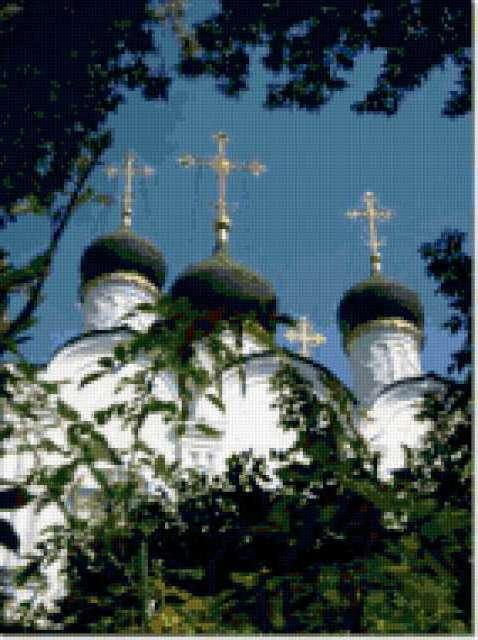 Купола, церкви, соборы, храмы