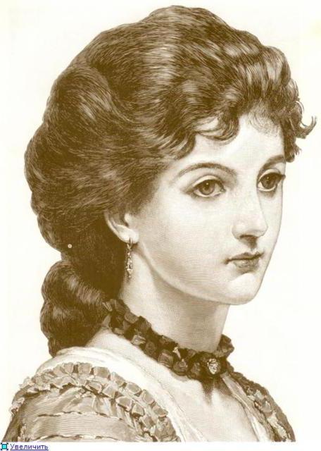 Вышивка крестом портрет дамы