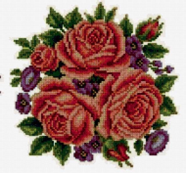 Красные розы, предпросмотр