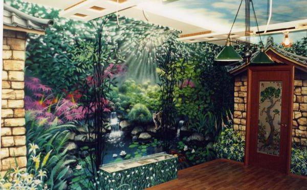 Японский сад, оригинал
