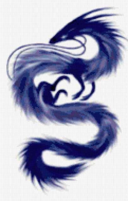 Синий дракон, предпросмотр