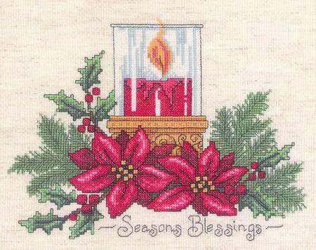 Для скатерти новогодней