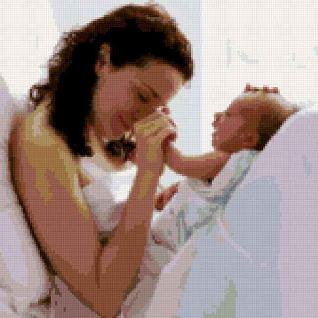 Мать с ребенком, предпросмотр