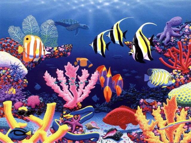 Подводный мир, подводный мир,