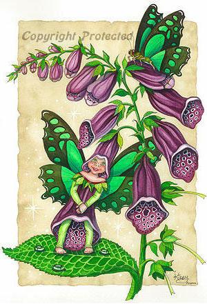 Цветочные феи, оригинал